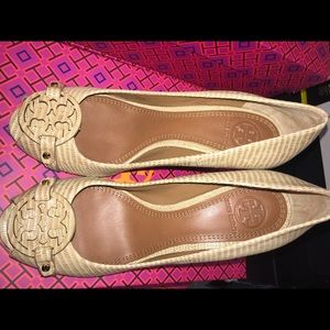 Brand new Tory Burch wedge